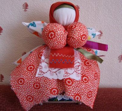 Вепсская кукла - оберег для ребенка