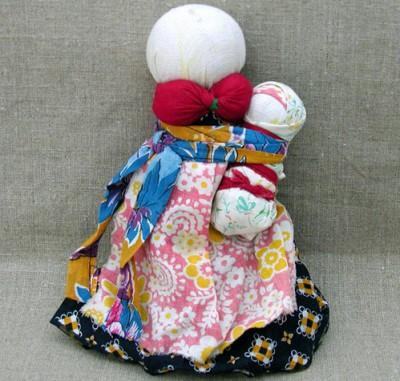 Зольные куклы - хранители очага
