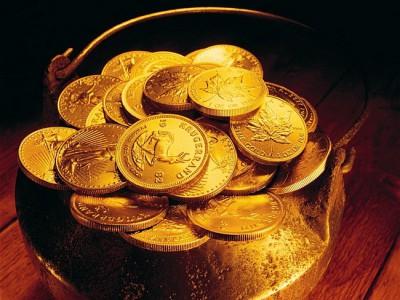Монеты для привлечения богатства