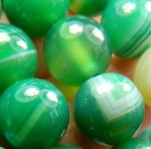 Зеленые агаты - счастье и удача во всех делах