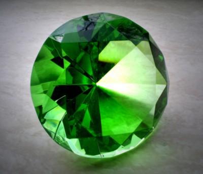 Зеленый бриллиант - рождение ребенка