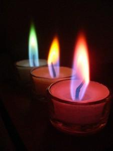 Использование свечей при заговоре
