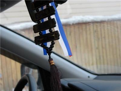 Использование оберега в машине