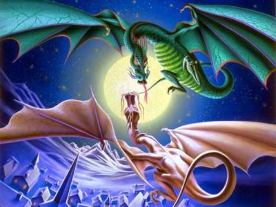Огненный союз двух драконов