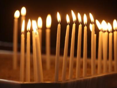 Церковные восковые свечи