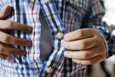 Пуговицы на одежде