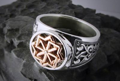 Кольцо с символом Молвинец