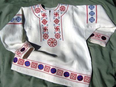 Рубахи с вышивкой