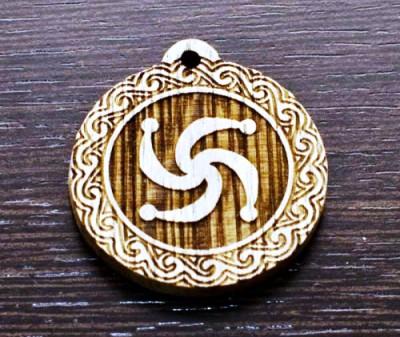 Символ Рода из дерева