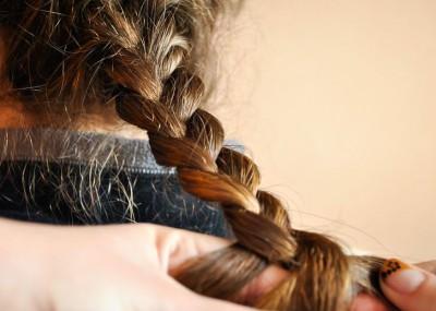 Коса из волос