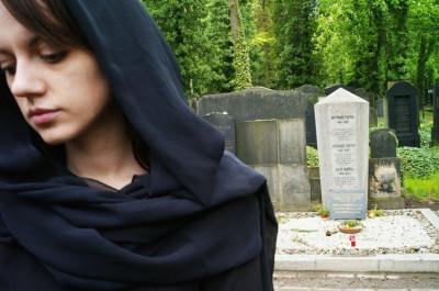 Черная одежда для похорон