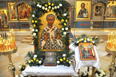 Икона Святого Лазаря