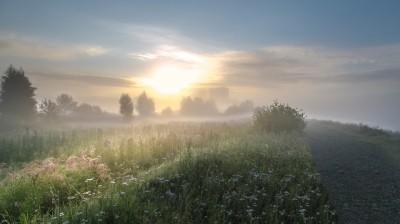 Утренний туман - к солнечному дню