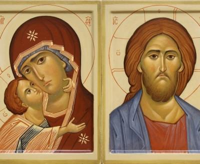 Лики Спасителя и Богоматери