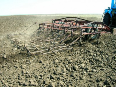 Начало обработки земли