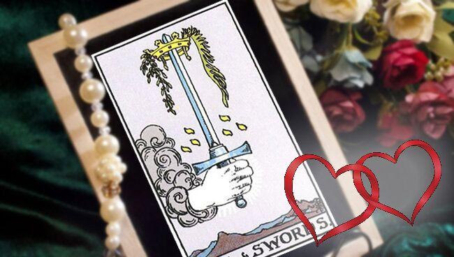 Туз Мечей Таро: значение в любви