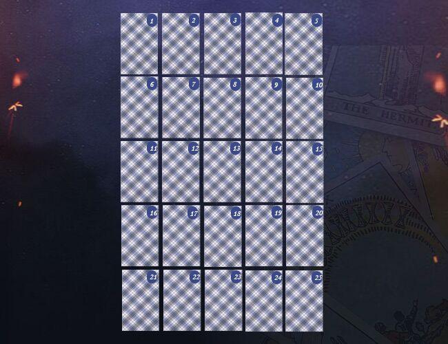 Годовой расклад на Таро: схема