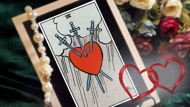 3 Мечей Таро: значение в любви