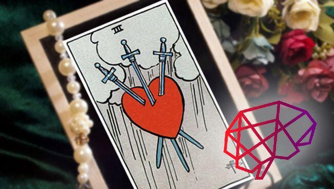 3 Мечей Таро: значение в психологии личности