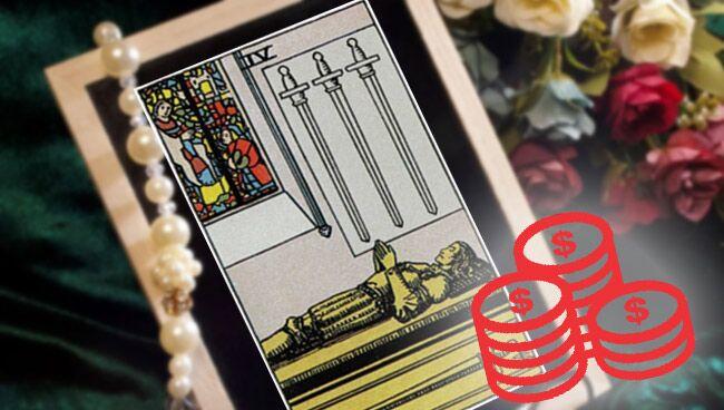 4 Мечей Таро: значение в работе