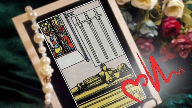 4 Мечей Таро: значение в здоровье