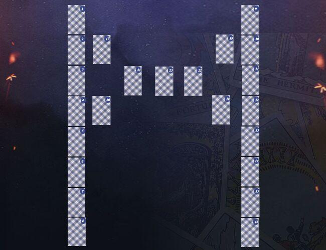 Гадание с помощью карт Таро на мысли человека «Манназ»