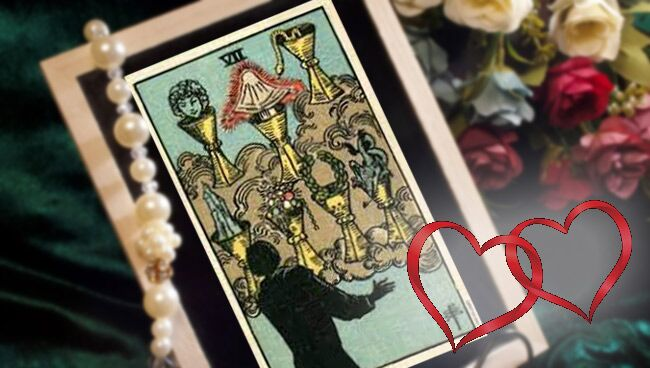 Семерка кубков Таро: значение в отношениях