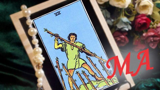7 Посохов Таро: сочетание с Младшими Арканами