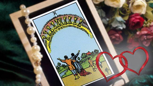 Десятка Кубков Таро: значение в отношениях