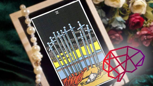 Десятка Мечей Таро: значение в психологии