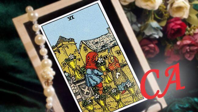 6 кубков таро сочетание со Старшими Арканами
