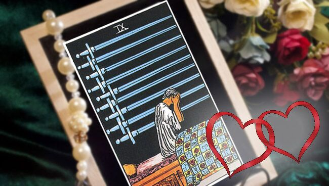 Девятка Мечей Таро: значение в отношениях и любви