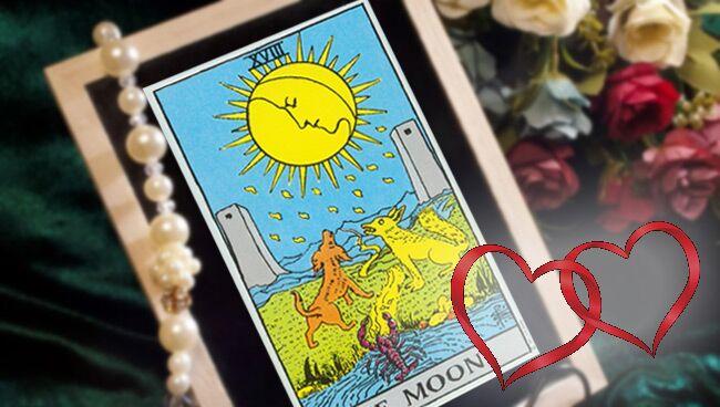 Луна Таро: значение в любви и в личных отношениях