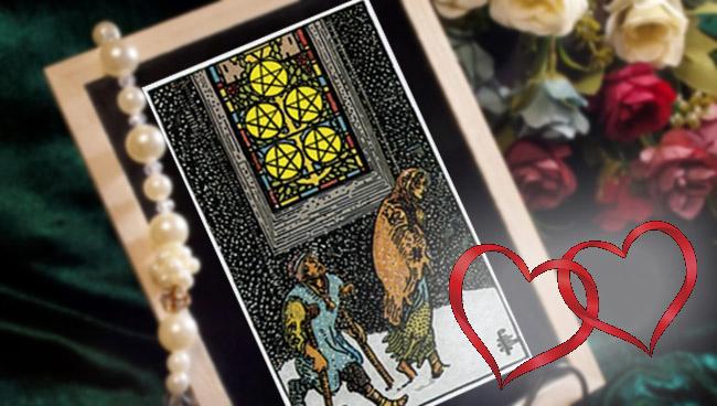 5 Пентаклей Таро: значение в любви и отношениях