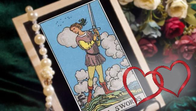 Паж Мечей Таро: значение в любви и отношениях