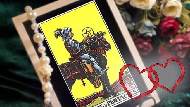 Рыцарь Пентаклей Таро значение в любви