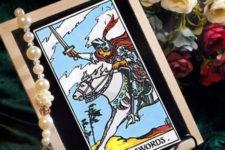 Рыцарь Мечей Таро: значение