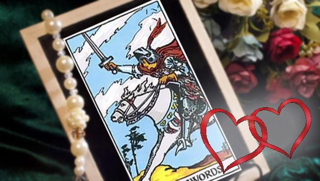 Рыцарь Мечей Таро: значение в отношениях