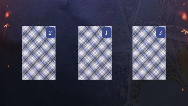 Гадание на три карты на ближайшее будущее