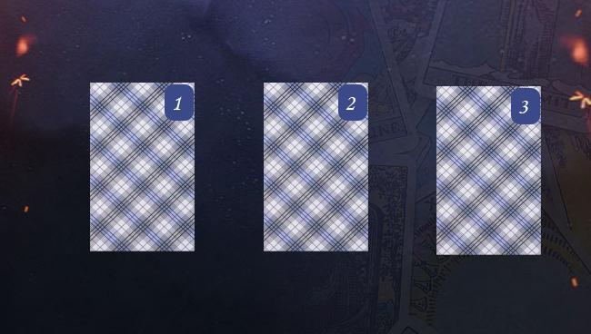 Расклад Таро на работу на три карты схема