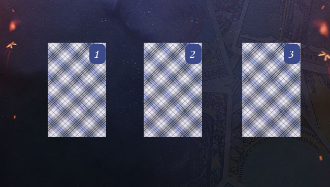 Расклад на ситуацию Таро три карты